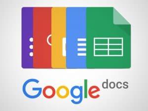 Les googledocs permettent de prendre des notes pendant les cours.